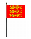 Upper Normandy Hand Flag - Small.